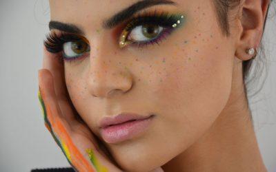 Interner Wettbewerb – Projektwoche Makeup und dazu passender Nailart