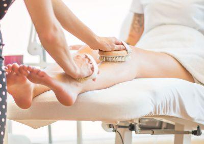 Bürsten Massage Kosmetikschule Döpfer