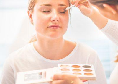 Make-up Augen Kosmetikschule Döpfer